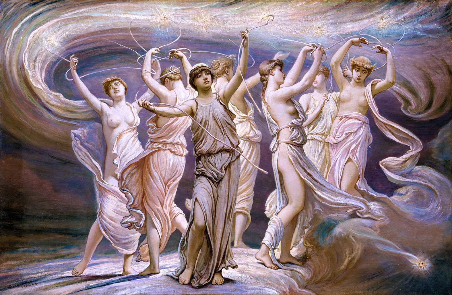 ΄Another Saturday, Another Fairy Tale΄: Pleiades, the 7 daughters of Atlas, and halcyon days - Part 2