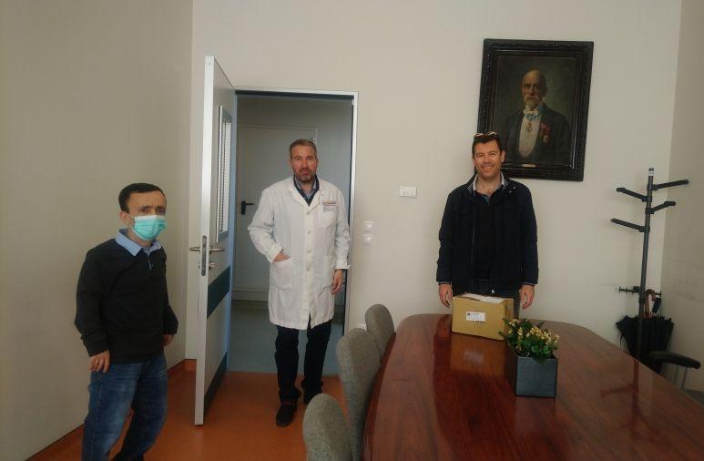 Δωρεά ιατρικού υλικού στο Νοσοκομείο από το Τμήμα ΑHEPA Κέρκυρας