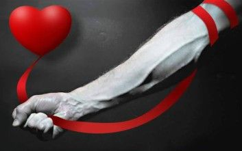 Voluntary blood donation in Agios Markos