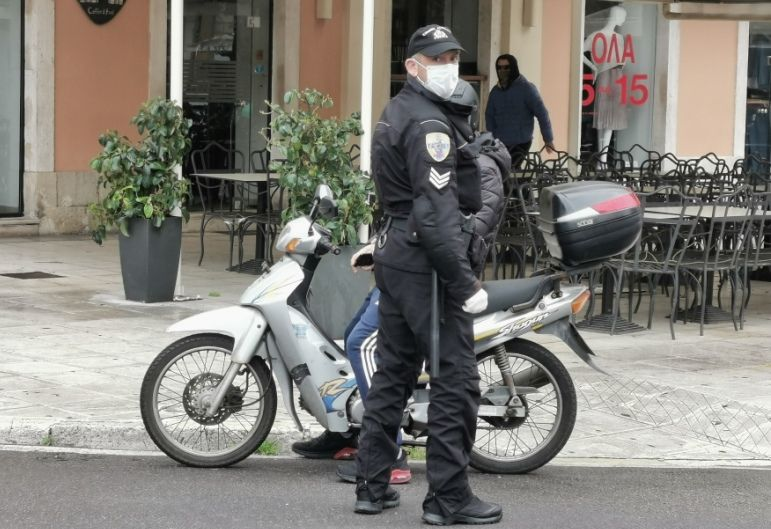 Corfiots have paid over 100,000 Euros in lockdown  fines
