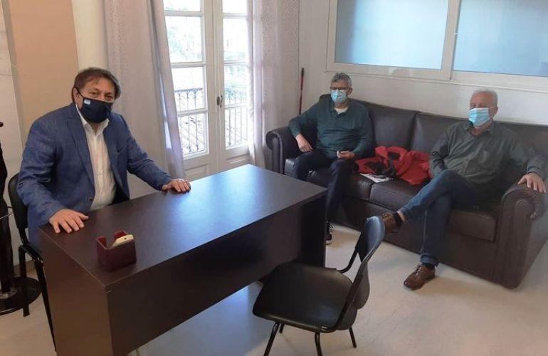 Εργασιακά, κρίση & ανεργία στη συνάντηση Αυλωνίτη με την προσωρινή διοίκηση του Εργατικού Κέντρου