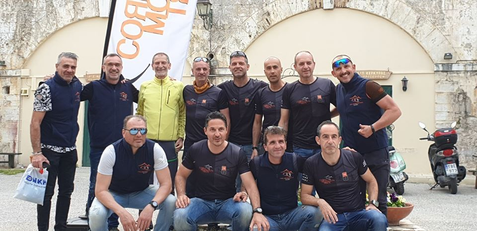 Corfu Mountain Trail - Race and New Year΄s Cake in Ermones