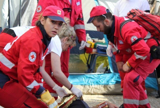 Τμήματα εκπαίδευσης Α΄ Βοηθειών από τον Ερυθρό Σταυρό Κέρκυρας