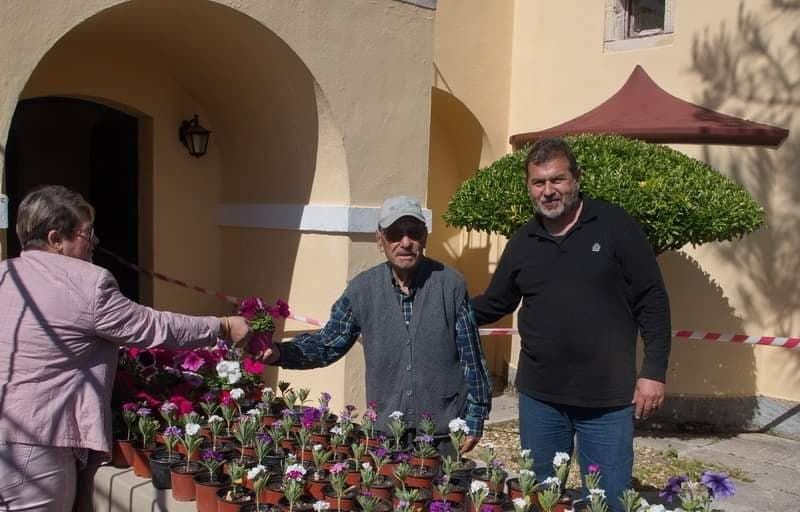 Σύλλογος Ανεμομύλου: Λουλούδια ως «αντίδοτο» στην κακή ψυχολογία!