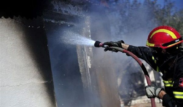 Φωτιά σε κουζίνα ισόγειας κατοικίας στην Άφρα