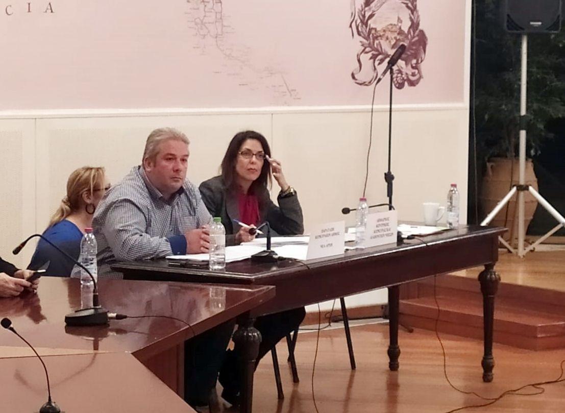 Η ενημέρωση που έκανε η Μ. Υδραίου στο δημοτικό συμβούλιο για τα απορρίμματα