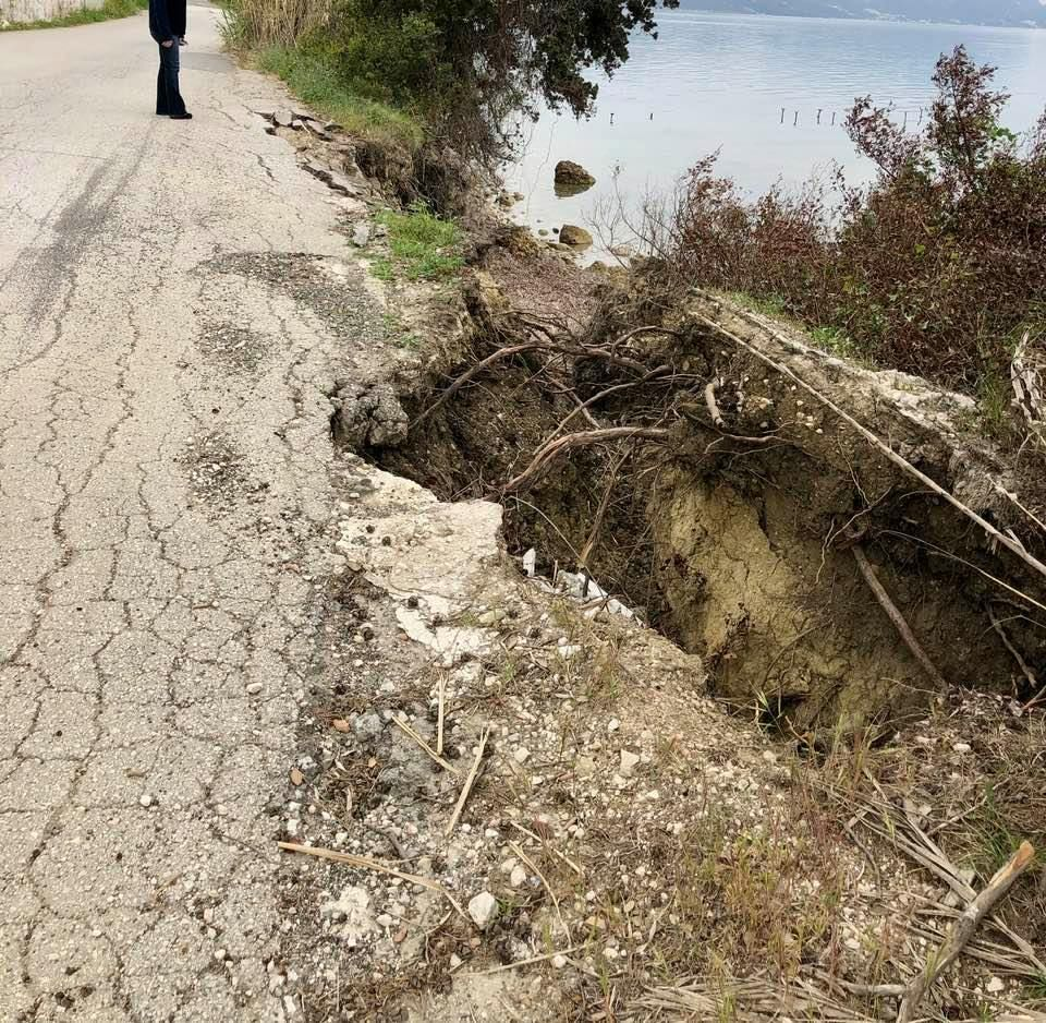 1m Euros for road repairs in North and South Corfu