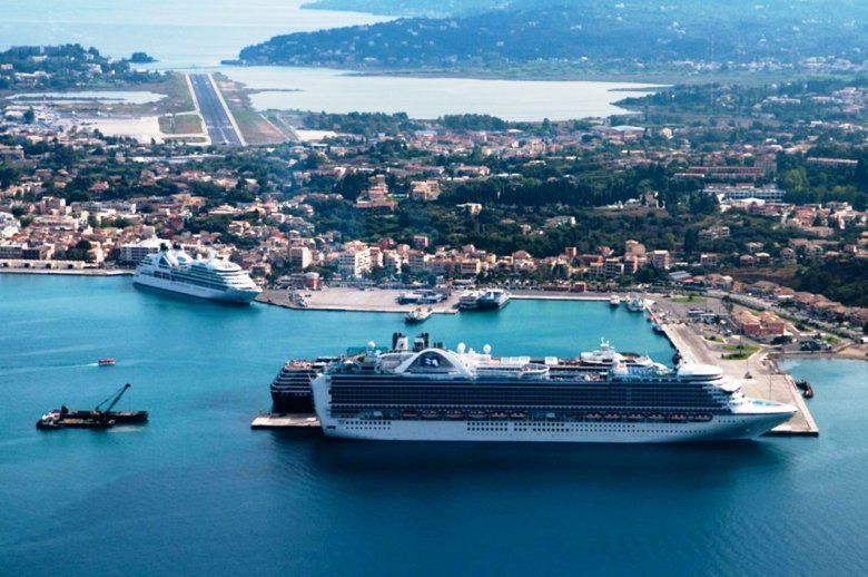 Over 760,000 cruise ship passengers visited Corfu in 2019