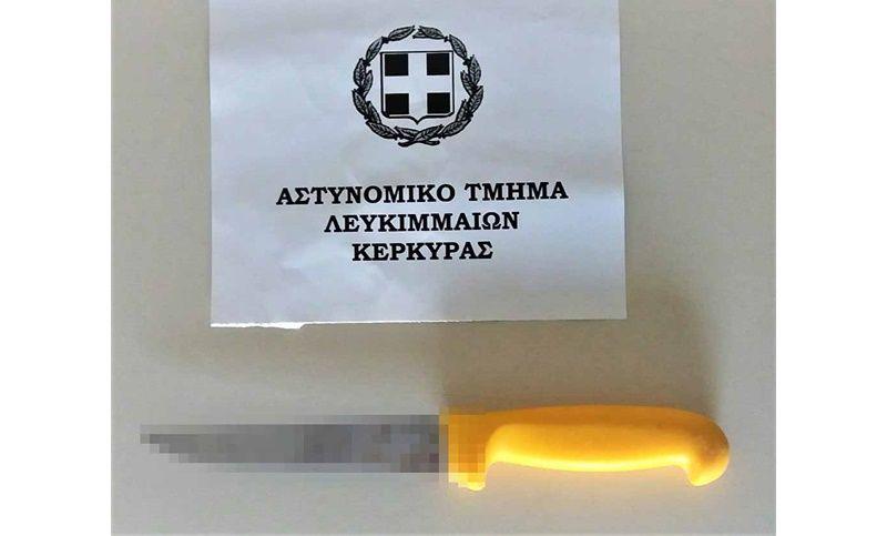 Αιματηρό οικογενειακό επεισόδιο στη Λευκίμμη: Καβγάς και επίθεση με μαχαίρι