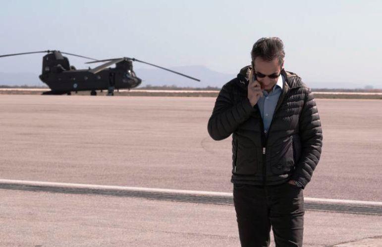Με ελικόπτερο ο Πρωθυπουργός σε Ήπειρο και Κέρκυρα