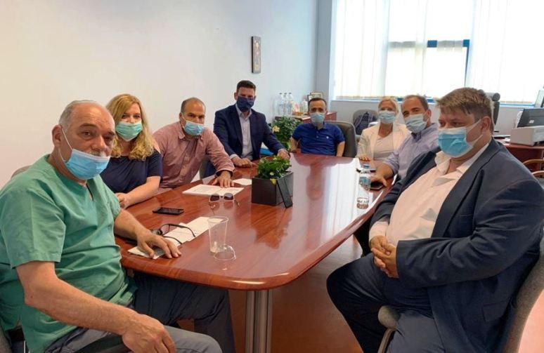 Ν.Δ. Κέρκυρας: «Βελτιωμένη η κατάσταση στο Νοσοκομείο»
