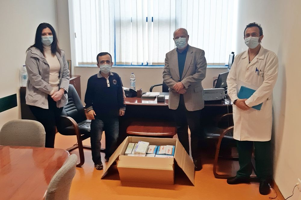 Municipality of North Corfu donates personal protection equipment to Corfu Hospital