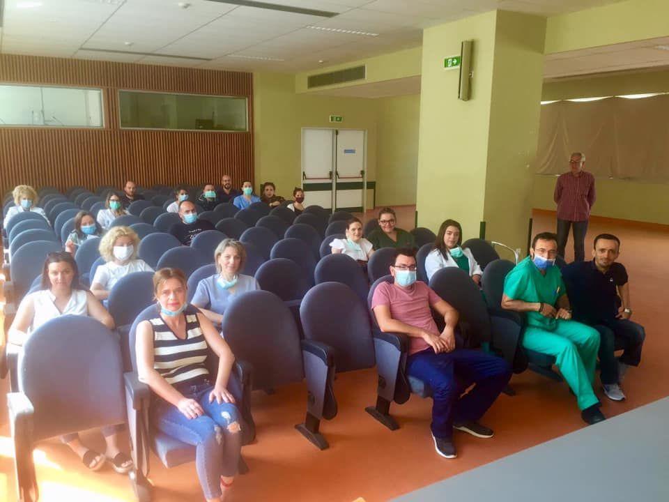 Ορκωμοσία 17 νεοπροσληφθέντων στο Νοσοκομείο Κέρκυρας