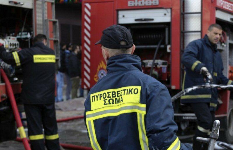 Φωτιά σε σπίτι στην Πλατυτέρα τέθηκε άμεσα υπό έλεγχο
