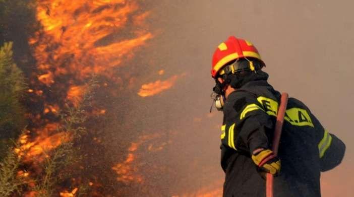 Τρία στρέμματα καμένη δασική έκταση στους Περουλάδες από πυρκαγιά