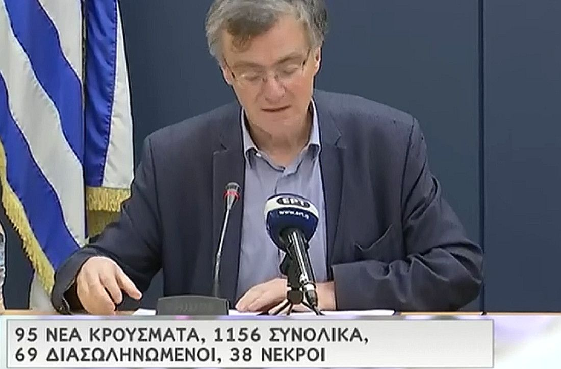 Slow growth in the spread of coronavirus in Greece continues