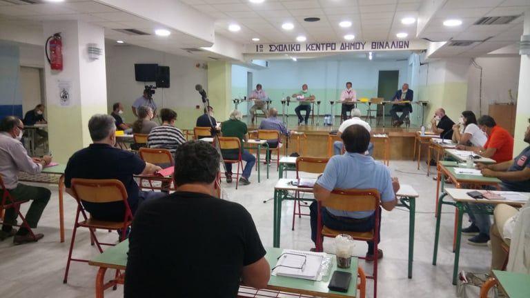 Συνεδρίαση του δημ. συμβουλίου Βόρειας Κέρκυρας το Σάββατο