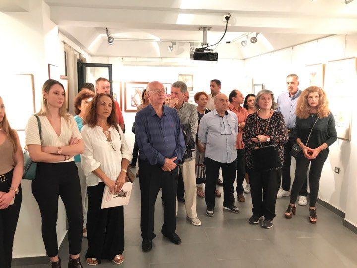 Eγκαινιάστηκε η Έκθεση Χαρακτικής στην Κερκυραϊκή Πινακοθήκη (photos)
