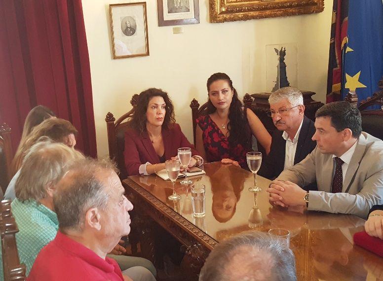 «Στρογγυλό τραπέζι» με φορείς της Κέρκυρας και της Μορδοβίας